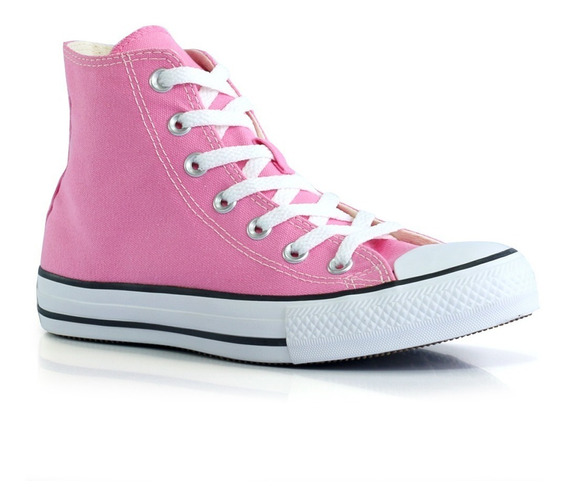 Tênis Converse All Star Ct0004 - Amarelo - Rosa