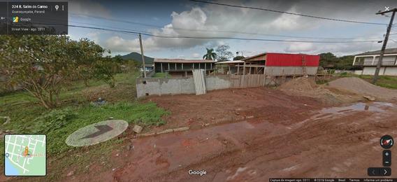 Terreno Com Construção Área Central Em Guaraqueçaba