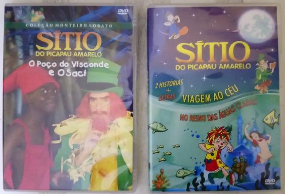 Lote Dvd Sítio Do Pica Pau Amarelo Originais - Leia