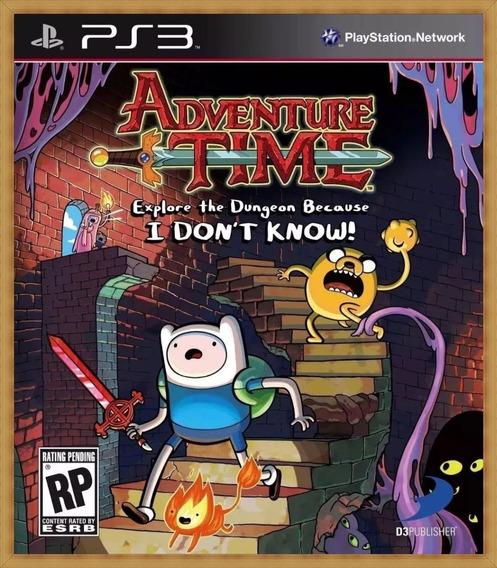 Adventure Time: Explore The Dungeon Ps3 Psn Envio Rápido