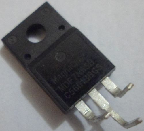 (kit 4x) 7n65b To-220 Mosfet Isolado 650v