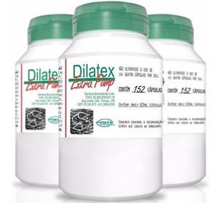 Dilatex Extra Pump-152 Cápsulas-power Supplements
