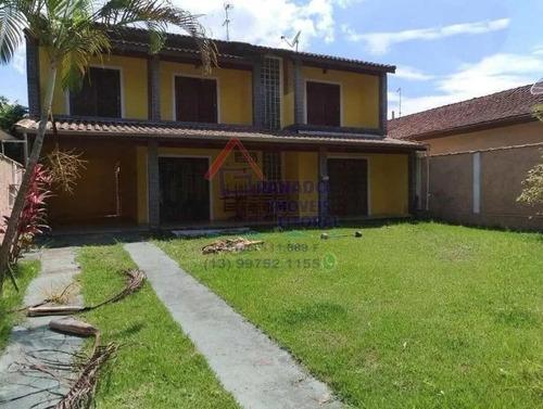 Imagem 1 de 15 de Casa Para Venda Em Mongaguá, Balneário Agenor De Campos, 4 Dormitórios, 1 Suíte, 2 Banheiros, 4 Vagas - 210_1-1172007