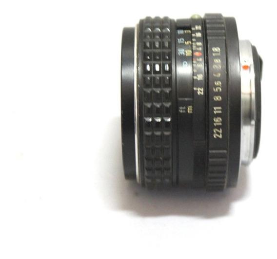 Lente Asahi Pentax 55mm 1.8 Retro Funcionando Com Fungos