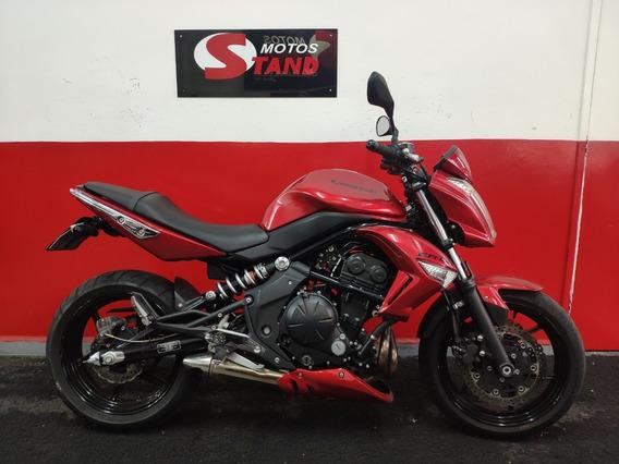 Kawasaki Er6n Er 6n Er6 N Er-6n 650 2012 Vermelha Vermelho