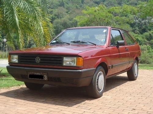 Imagem 1 de 14 de Vw - Volkswagen Gol Gl 1.6  1987 Exclusividade Placas Preta
