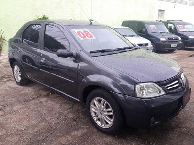 **oferta** Renault Logan 1.6 Privilège Hi-flex 4p Cinza 2008