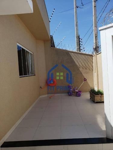 Casa Residencial À Venda, Residencial Ary Attab, São José Do Rio Preto - Ca1154. - Ca1154