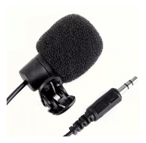 Microfone De Lapela Celulares, Filmadora, Computador Etc...