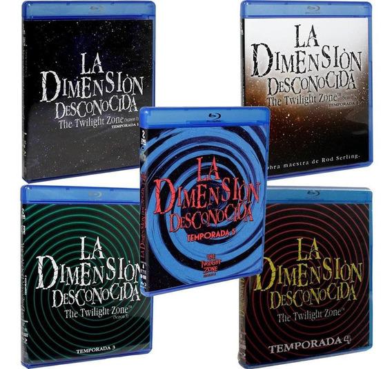 La Dimension Desconocida Temporada 1, 2, 3, 4 Y 5 Blu-ray