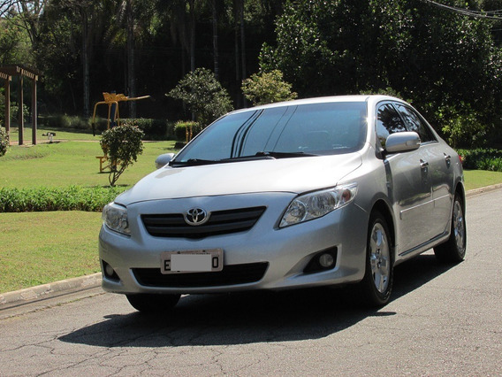 Toyota Corolla 1.8 Xei Flex 4p Automatico 2010 Blindado