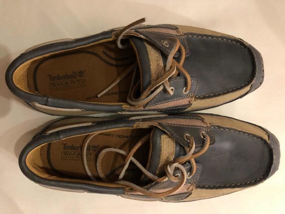 Zapato Nautico Timberland Con Sistema Smart Comfort T41