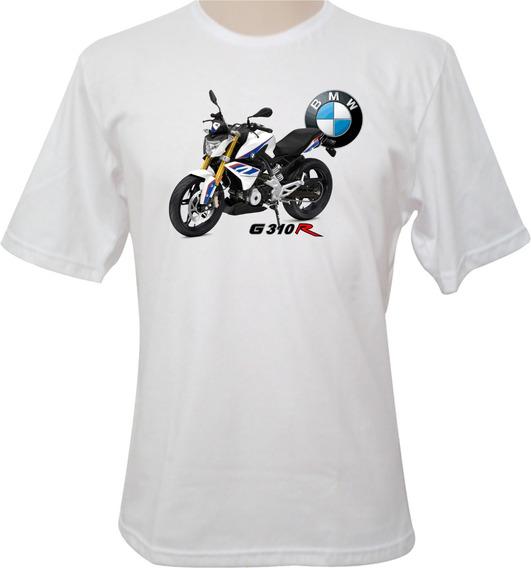 Camiseta Motocicleta Bmw G310r Tricolor