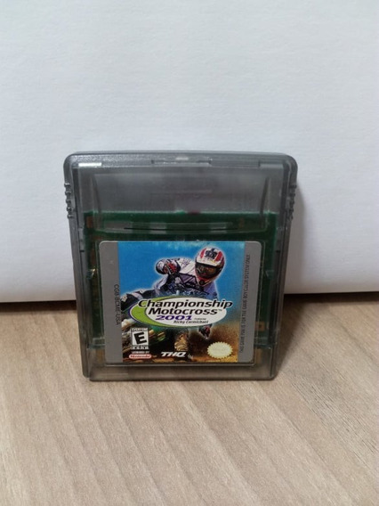 Championship Motocross 2001 Game Boy Color