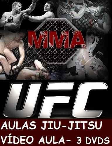 Aulas De Jiu-jitsu! Curso Em 3 Dvds Qwed
