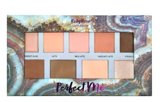 Paleta De Contorno Perfect Me Light - Ruby Rose Hb 7509/l