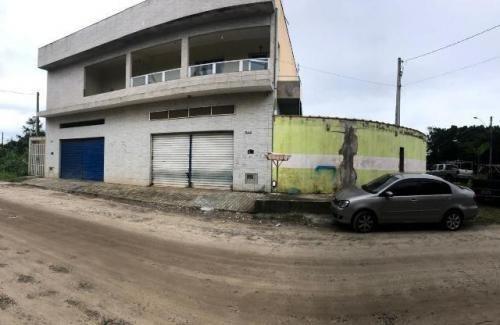 Sobrado Com Ponto Comercial, Jdim Palmeiras, Em Itanhaem