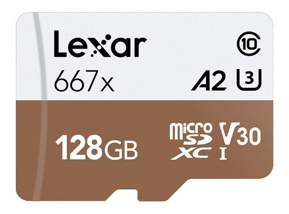 Cartão Micro Sdxc Lexar 128gb Professional 100mb/s