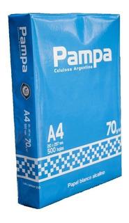 Resmas A4 70 Gr Pampa Caja X10 Unidades Papelera Cumbre