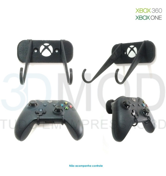 Suporte De Controle Xbox 360 Ou One - De Parede