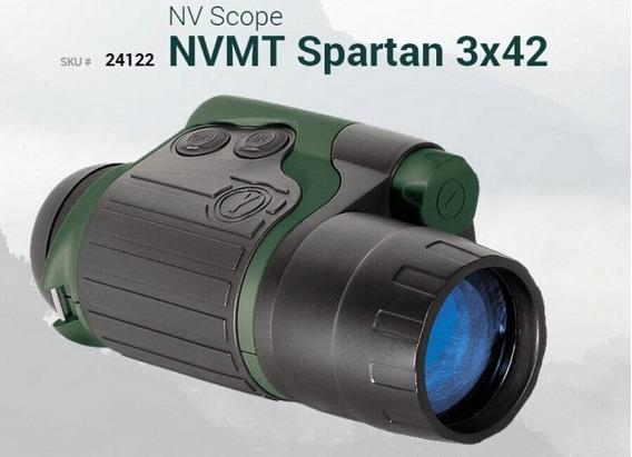 Monóculo Visão Noturna Yukon Night Vision Nvmt Spartan 3x42