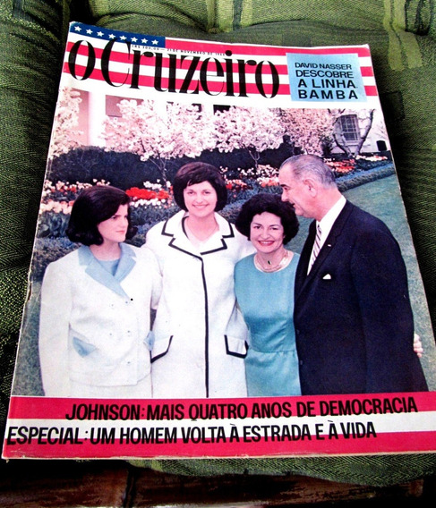 Cruzeiro 1964 Lyndon Johnson Rio 400 Anos Ouro Preto Serenat