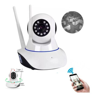 X2 Camara Ip Wifi Hd Motorizada Vision Nocturna 360 Ml2881