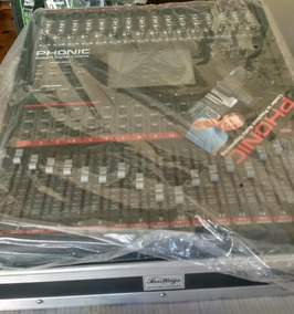 Mesa De Som Digital Phonic Com Case