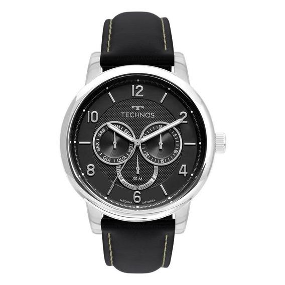 Relógio Technos Masculino 6p79bj/0p Multifunção Prateado