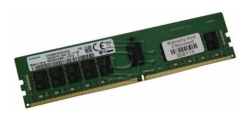 Imagem 1 de 1 de Memória Ram  16gb 2666v Pc4 Samsung Rdimm M393a2k43bb1-ctd7q