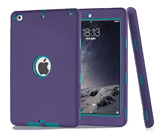 Funda iPad Air 1 2 iPad 2 3 4 Uso Rudo Contra Golpes