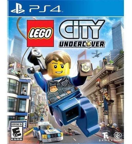 Ps4 Lego City Undercover Novo Lacrado
