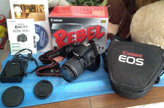 Camera Canon Rebel T3 Com Defeito