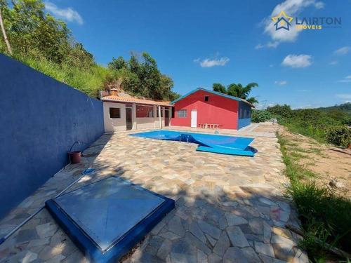 Chácara Com 4 Dormitórios À Venda, 1000 M² Por R$ 400.000,00 - Vitória Régia - Atibaia/sp - Ch1434