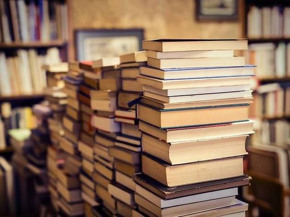 Lote 5 Livros Didaticos 20 Reais