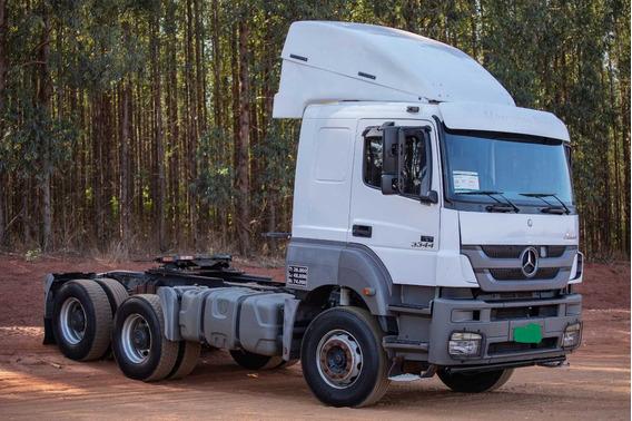 Mercedez Benz - Axor 3344 - 6x4 - Cabine Leito -ano 2014