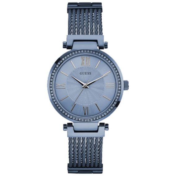 Relógio Feminino Guess 92580lpgdea3 Analógico Azul