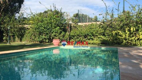 Casa Praia Do Pernambuco Guarujá/sp - Ca0315