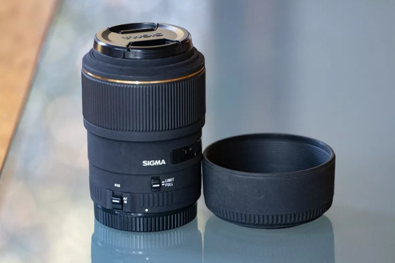 Lente Sigma 105mm 1:2.8 Ex Dg Macro Para Canon