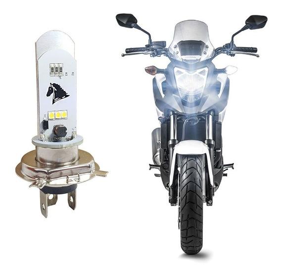 Lampada Farol Led Moto H4 Super Branca Cg 150 Cg Fan150