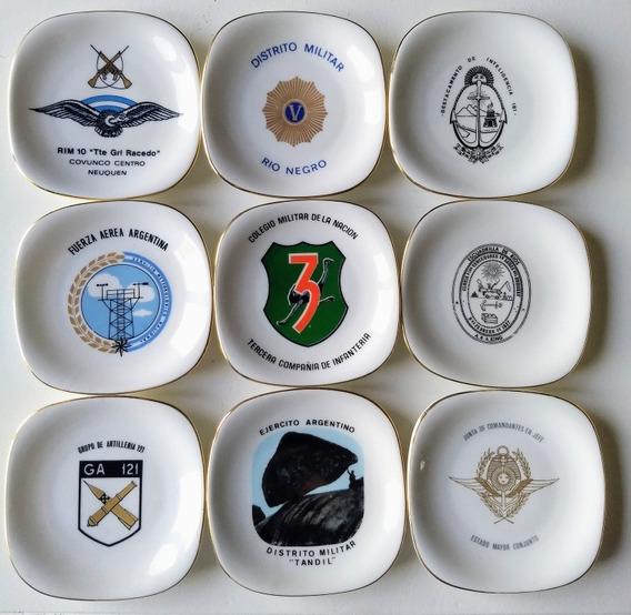 Platitos Platos Militares Ejército Argentino Verbano C/u
