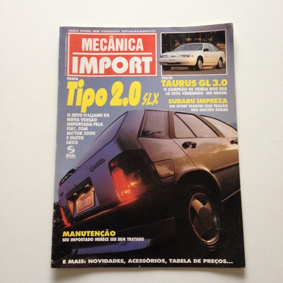 Revista Mecânica Import Tipo 2.0slx Taurus Gl3.0 Subaru A015