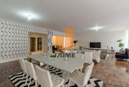 Apartamento Para Venda No Bairro Higienópolis Em São Paulo - Cod: Bi550 - Bi550