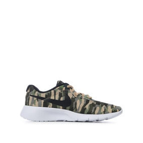 Tenis Nike Tanjun Print Camuflaje Junior As 22.5-25 Original
