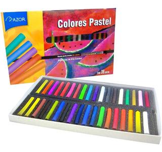 barritas de pastel cuadradas 64 colors Barritas blandas de pastel no t/óxicas HASHI