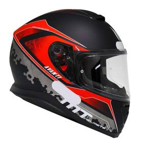 Capacete Mt Thunder 3 Avanti Matt Black/red 58