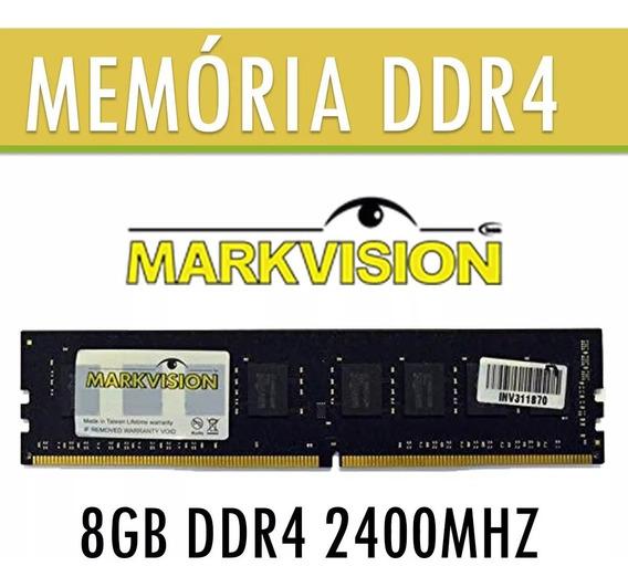 Memória De 8gb Ddr4 2400mhz