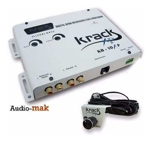 Epicentro Krack Kb-10xp Con Control De Bajos Frontal