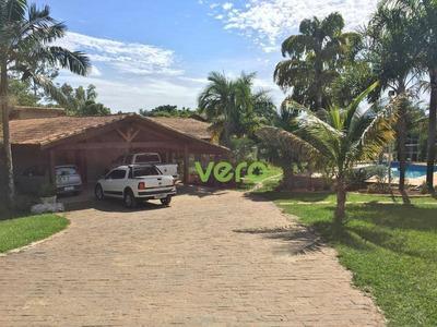 Chácara Com 04 Dormitórios À Venda, 15000 M² Por R$ 1.200.000 - Ch0002