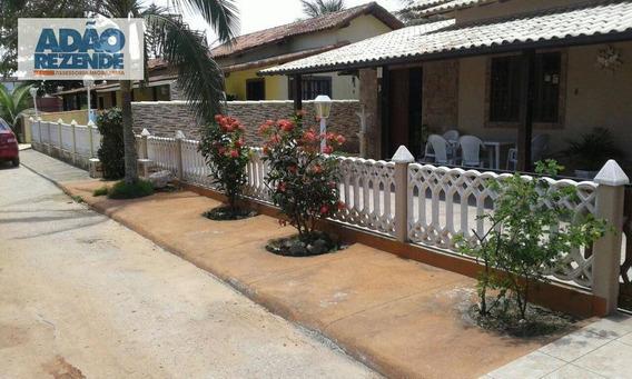 Casa Residencial À Venda, Unamar, Cabo Frio. - Ca0854